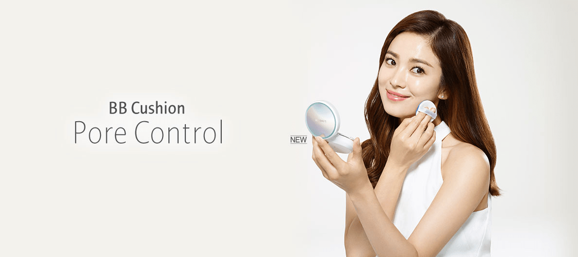 NEW Laneige BB Cushion- Pore Control Review & Comparison